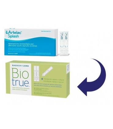 BIOTRUE EYE DROPS 30 UNIDOSIS