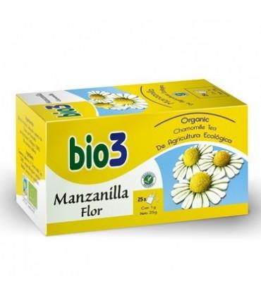 BIO 3 MANZANILLA FLOR 25 BOLSITAS