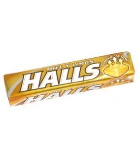 HALLS MIEL Y LIMON
