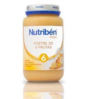 NUTRIBEN GRANDOTE POSTRE DE 6 FRUTAS 250 G