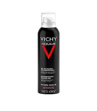 VICHY HOMME GEL DE AFEITAR ANTI-IRRITACIONES 150 ML