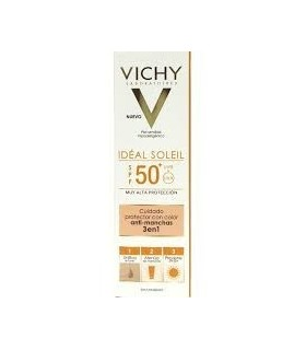 VICHY IDEAL SOLEIL 50+ ANTIMANCHAS 3 EN 1 50 ML