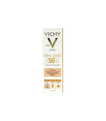 VICHY IDEAL SOLEIL 50+ ANTIMANCHAS 3 EN 1 50 ML
