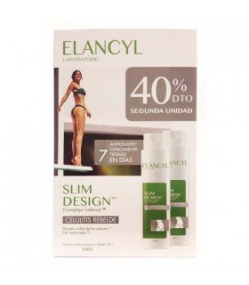 ELANCYL DUO SLIM DESIGN CELULITIS REBELDE 200 ML 2U