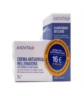 AXOVITAL CREMA ANTIAARUGAS RELLENADORA SPF 15 50 ML