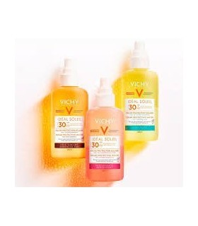 VICHY IDEAL SOLEIL 30 AGUA DE PROTECCION SOLAR LUMINOSIDAD 200 ML