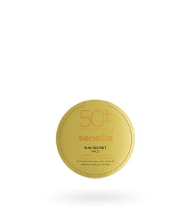 SENSILIS SUN SECRET 50+ COMPACTO 02 GOLDEN 10 G