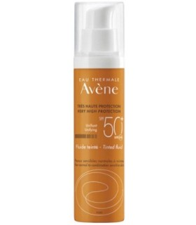 AVENE SOLAR 50+ FLUIDO COLOREADO 50 ML