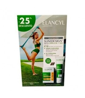 ELANCYL PACK DUO SLIM DESIGN CAPSULAS + GEL 25% DE DESCUENTO
