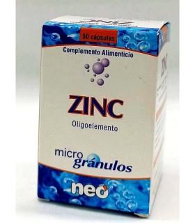 ZINC MICROGRANULOS NEO 50 CAPSULAS NEO