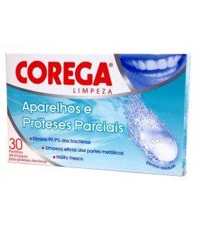 COREGA ORTODONCIAS LIMPIEZA PROTESIS DENTAL 30 TAB