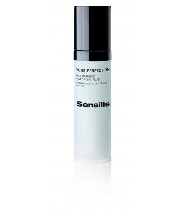 SENSILIS PURE PERFECTION FLUIDO HIDRATANTE MATIFICANTE SPF 10 PIELES MIXTAS Y GRASAS