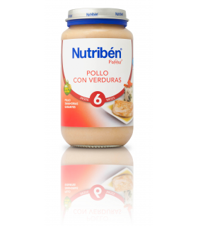 NUTRIBEN GRANDOTE POLLO VERDURAS 250 G.
