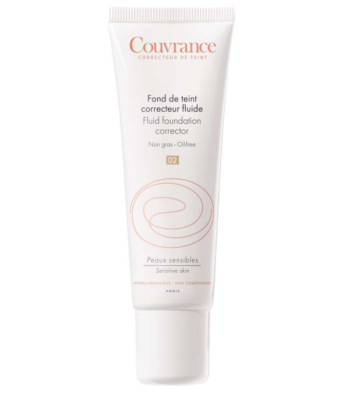 AVENE MAQUILLAJE FLUIDO 2.0 NATURAL OIL FREE COUVRANCE