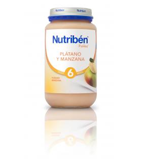 NUTRIBEN PLATANO MANZANA GRANDOTE 250 G