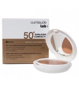 Sunlaude 50+ maquillaje compacto tono medium