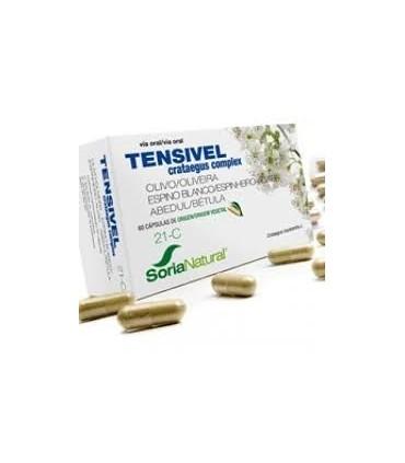 TENSIVEL 21-C OLIVO-ESPINO BLANCO-ABEDUL 60 CAPSULAS SORIA NATURAL