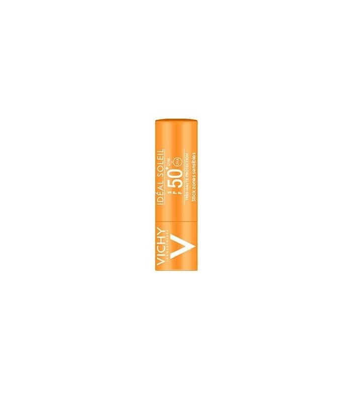 VICHY IDEAL SOLEIL 50+ STICK ZONAS SENSIBLES 9 G