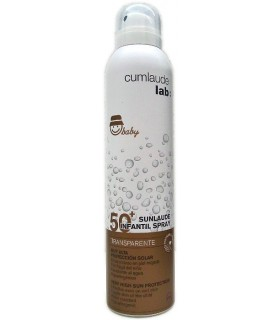 SUNLAUDE 50+ INFANTIL SPRAY TRANSPARENTE 200 ML