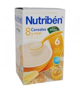 NUTRIBEN PAP 8 CEREALES 600 G