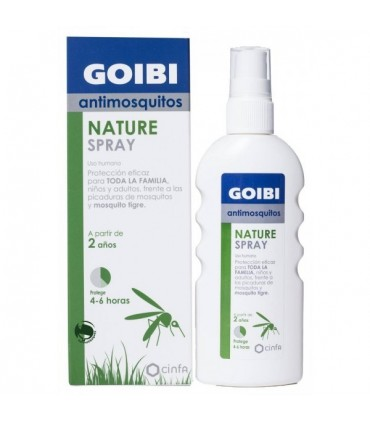 GOIBI NATURAL REPELENTE INSECTOS SPRAY 100 ML
