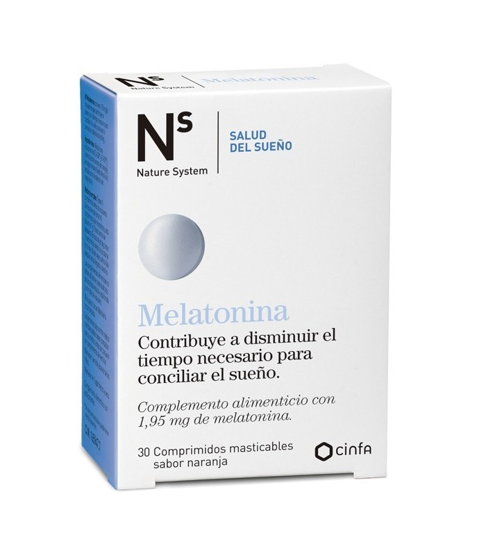 MELATONINA N+S 30 COMPRIMIDOS 1,95gr