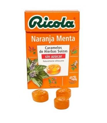 RICOLA NARANJA-MENTA CARAMELOS