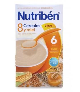 NUTRIBEN PAP 8 CEREALES Y MIEL FIBRA 600 G