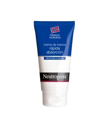 NEUTROGENA FORMULA NORUEGA CREMA DE MANOS RAPIDA ABSORCION 75 ML