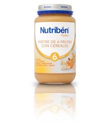 NUTRIBEN GRANDOTE POSTRE 6 FRUTAS CON CEREALES 250 G