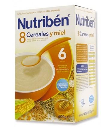 NUTRIBEN 8 CERE MIEL 600 G