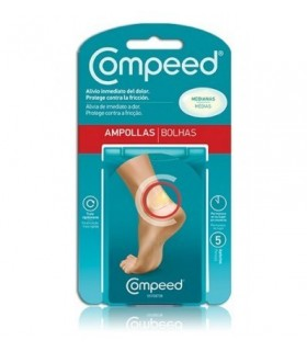 COMPEED AMPOLLAS MEDIANAS 5 U