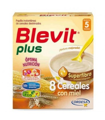 BLEVIT PLUS SUPERFIBRA 8 CEREALE MIEL 300 GR